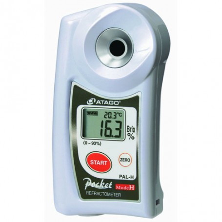 Réfractomètre échantillon à chaud : Pal-H