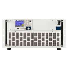 Charge électronique Ethernet, USB, RS-232, CAN et port analogique en standard : série PLI