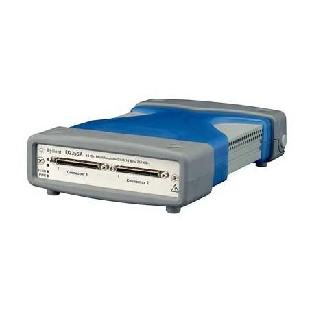 Centrale acquisition USB entrées 64 simples / 32 diff. Analog. : U2355A