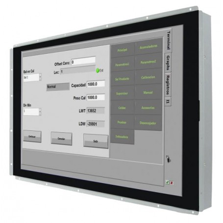 "Moniteur industriel 7"" USB-C : W07L100-POT1-C"