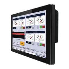 """Moniteur industriel tactile 12,1"""" IP65 : R12L100-GCM2-C"""