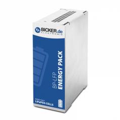 Batterie LiFePO4 à haute densité d'énergie rail DIN : BP-LFP-1025D