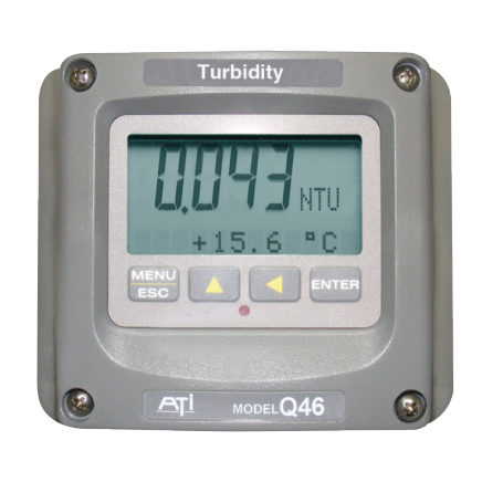 Turbidimètre fixe pour les eaux : Q46/76