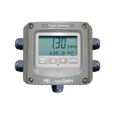 Contrôleur chlore total résiduel eaux potables et usées : Q46H/79S