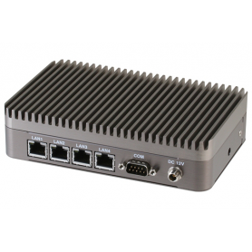 Compact Embedded Box PC with Intel Celeron Wide Temperature : BOXER-6404WT