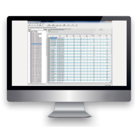 Logiciel GAM Gas Analyser Manager Software