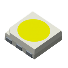 Led CMS 5.0mm x 5.0mm x 1.62mm : Série 5050