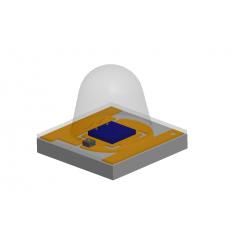 LED UV haute luminosité 3.45 mm x 3.45 mm x 2.95 mm : Série UV3535 60 °