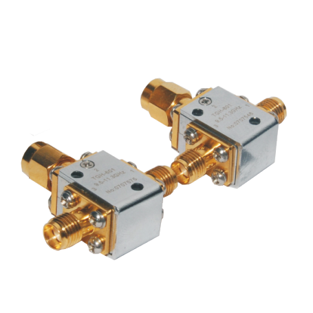 Circulateur coaxial 4,4 à 15 GHz : Série TGH