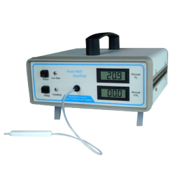 Analyseur MAP portatif O2 CO2 résiduel : modèle 902D
