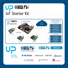 UP package Start your IoT development with gateway, sensors, software and cloud ready