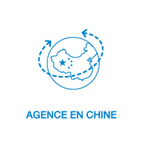 Agence en Chine