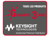 KEYSIGHT TECHNOLOGIES garantie 3 ans