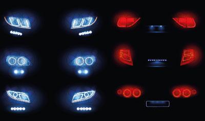 Led pour phares de voiture