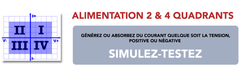 alimentation 2 & 4 quadrants
