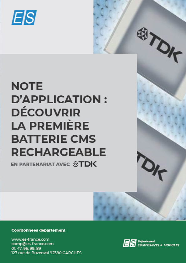Note d'application CeraCharge