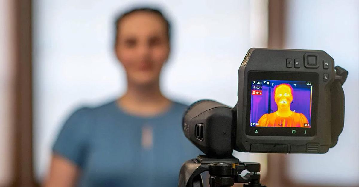 Dépistage de l'EBT avec une caméra thermique FLIR