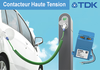 Contacteur haute tension