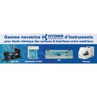 Nouvelle gamme d'instruments pour l'étude chimique des surfaces & interfaces entre matériaux !