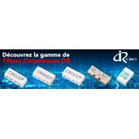 Filtres céramiques DR pour applications télécoms