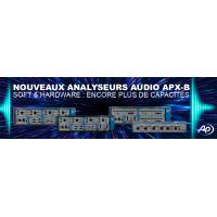 Nouveaux analyseurs audio APXB