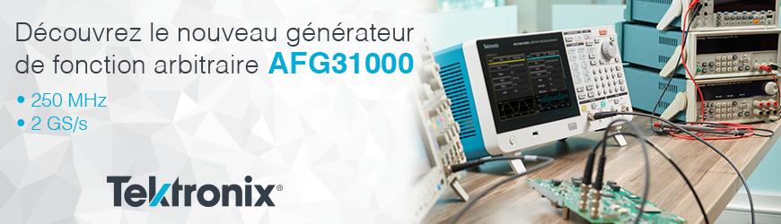 Générateur de fonction arbitraire 250 MHz, 2 GS/s