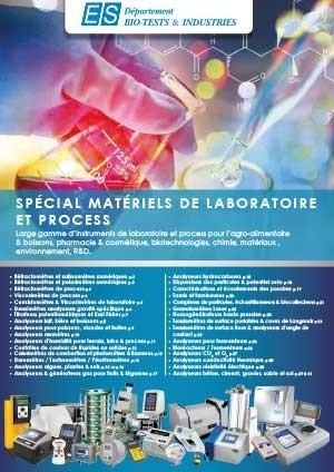 Catalogue Spécial Matériels de Laboratoire et Process