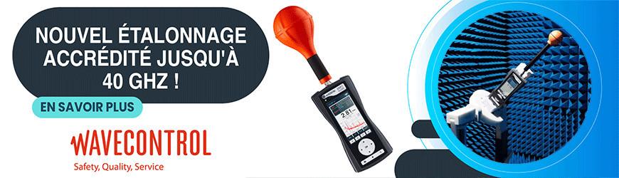 Etalonnez avec l'accréditation Cofrac ISO 17025