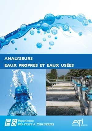Catalogue ATI dédié à l'Analyse de l'Eau