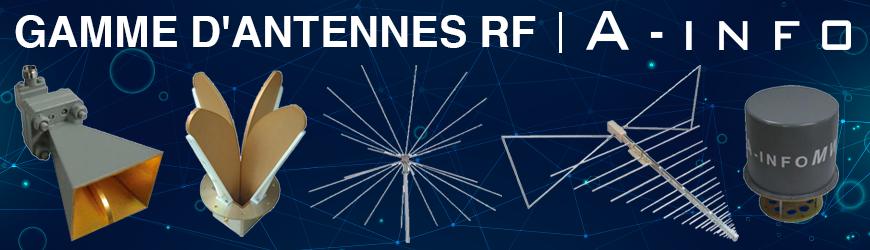 Gamme d'antennes RF A-Info