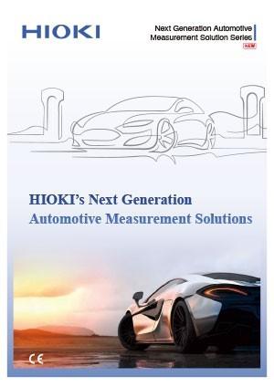 HIOKI : Les solutions de mesure pour l'automobile