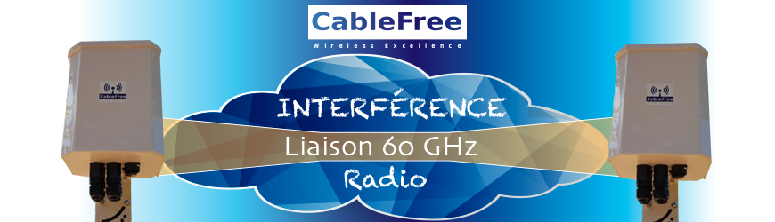SOLUTION D'INTERCONNEXION DE 60 GHz DEBIT JUSQU'À 2,3 Gbps : V-BAND
