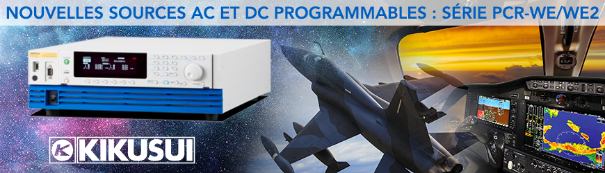 Source AC ultra-compacte programmable 3U