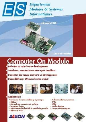 Plaquette Computer On Module