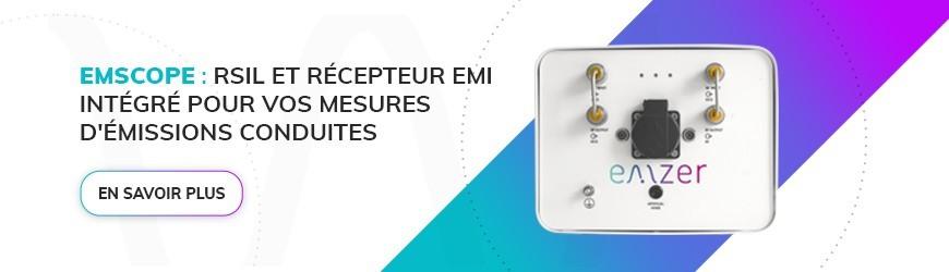 Récepteur CEM avec RSIL intégré