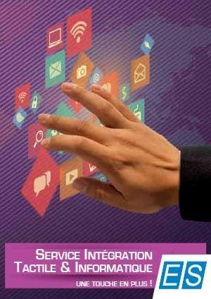 Plaquette Intégration Tactile et Informatique