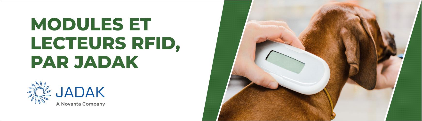 Solutions Jadak : Modules et lecteurs RFID, HF & UHF