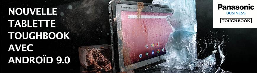 Nouvelle tablette ultra-durcie Panasonic Toughbook A3