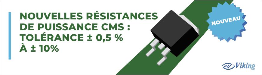Résistances CMS : Série STR