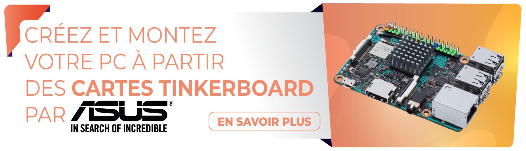 Nano-cartes Asus Tinker Board : Pour les développeurs