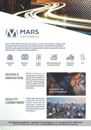 Catalogue Mars Antenna 2020