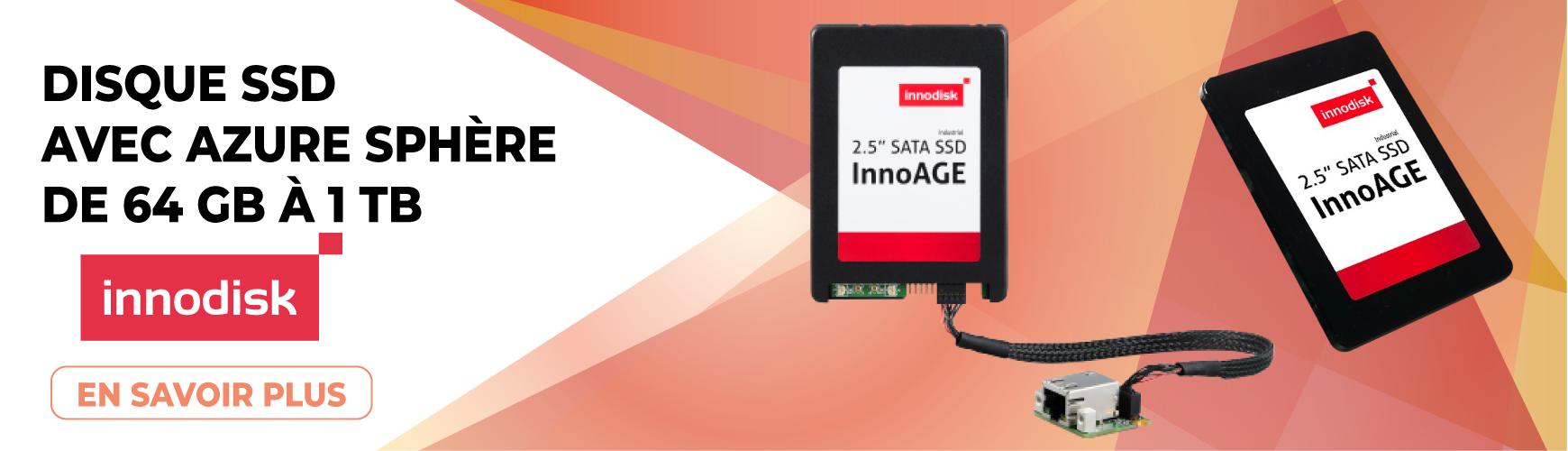 Disque SSD avec Azure Sphere : InnoAGE