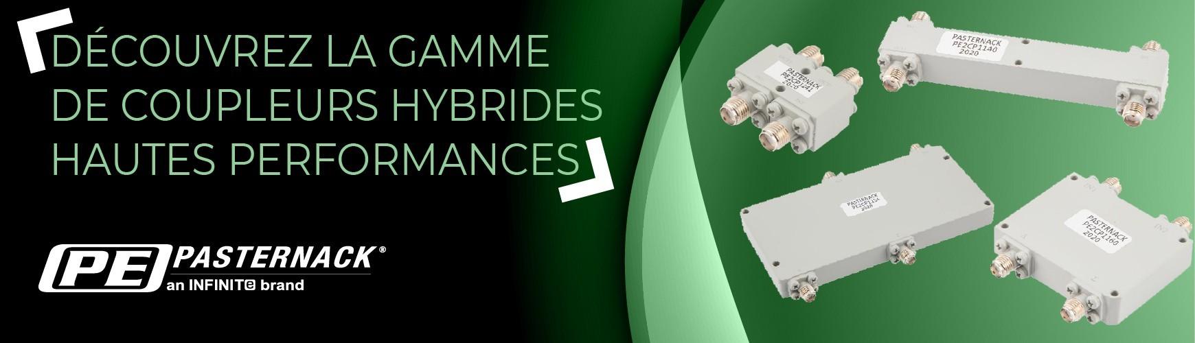 Coupleurs hybrides, série PE2CP par Pasternack