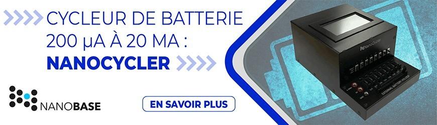 Cycleur de batterie 200 μA à 20 mA : Nanocycler