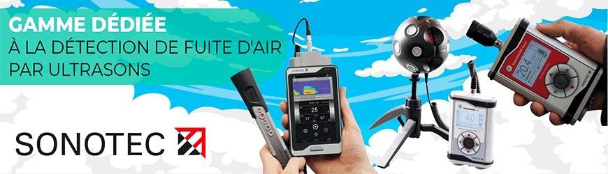 Détection de fuite d'air par ultrasons - SONOTEC