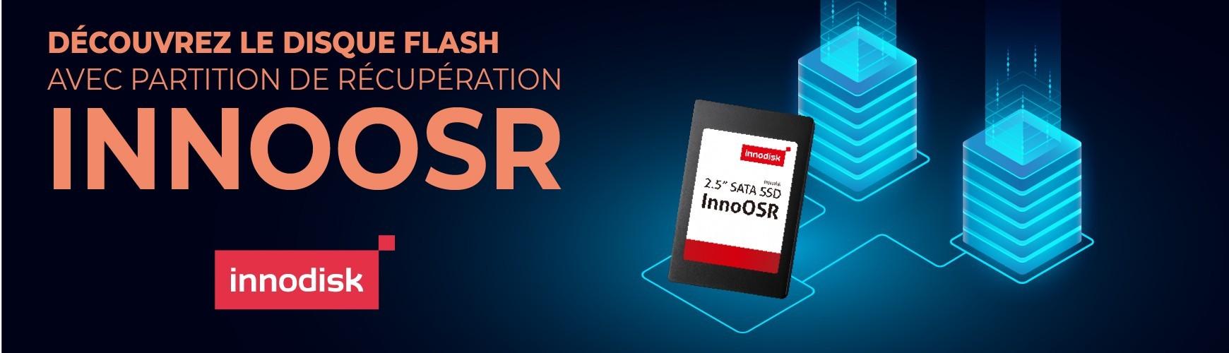 Découvrez le disque flash avec partition de récupération : InnoOSR