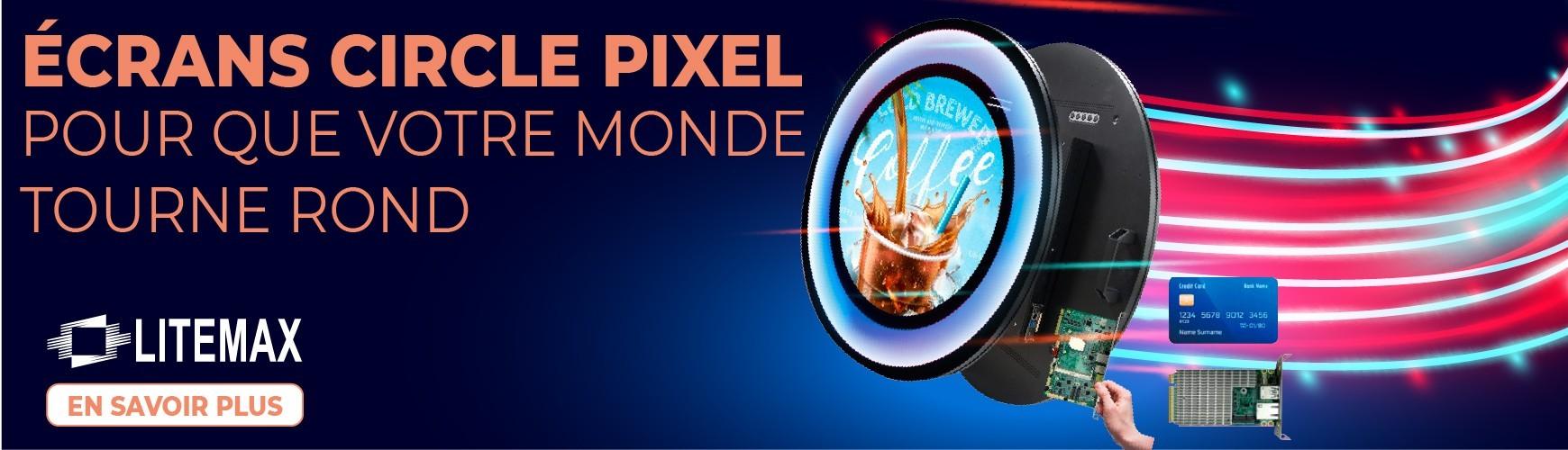 """Écran Circle Pixel TFT 23"""" : SCS2365 Y"""