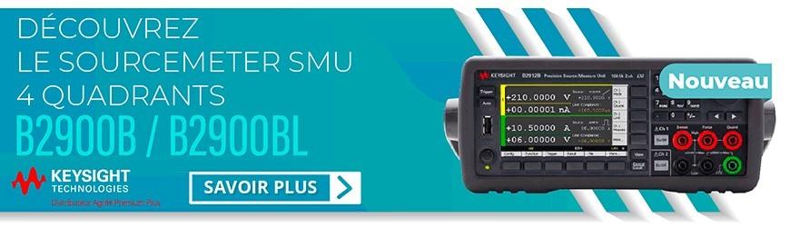 Sourcemeter SMU 10,5 A : B2900B/BL