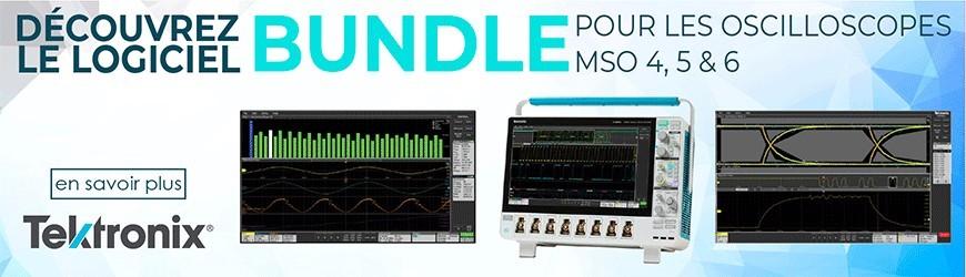 Logiciel Bundle pour les oscilloscopes MSO 4, 5 & 6