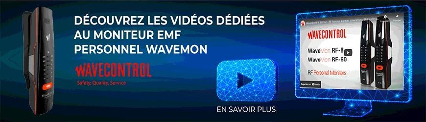 Vidéos dédiées au moniteur EMF personnel WaveMon